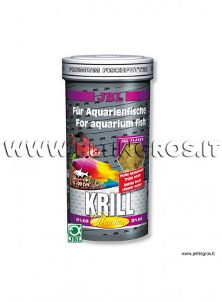 JBL KRILL - Mangime premium in fiocchi - acquari dolci e marini