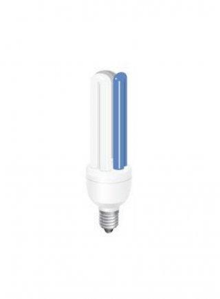 Lampada energy saving BIANCA/BLU 12.000k/25.000k attacco E27 14 watt/2U