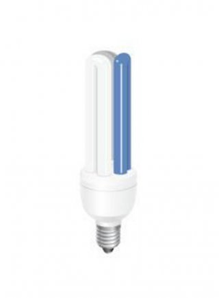Lampada Moonwhite energy saving BIANCA/BLU 12.000 k/25.000k attacco E27