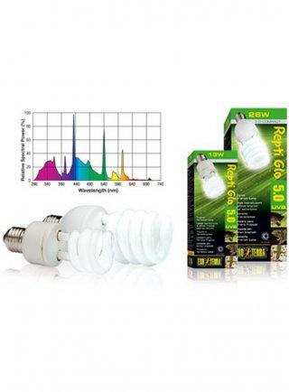 Lampada fluorescente Reptil Glo 5.0 compact 25 W
