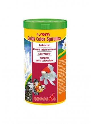 Sera Goldy color spirulina