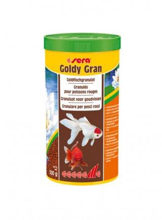 Sera goldy gran mangime granuli pesci rossi