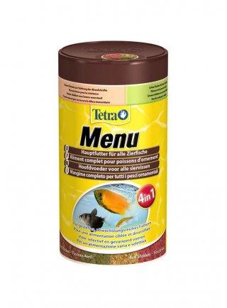 Tetra Menù 4 alimenti per pesci
