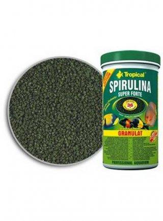 Spirulina  granulato per pesci ornamentali 150 ml
