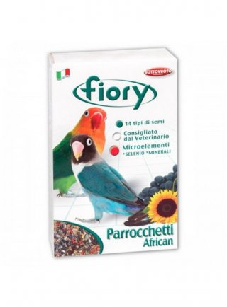 Fiory mangime per parrocchetti Africani 800 Gr