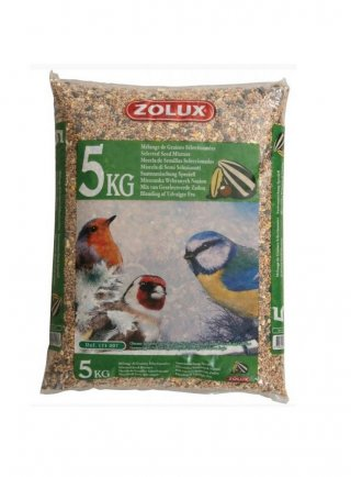Zolux mix per uccelli da giardino 5 Kg
