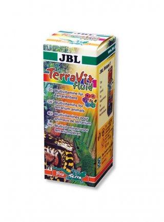JBL TerraVita fluid multivitamine per animali da terrario 50 ml