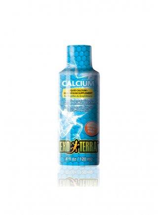 Exoterra Calcium Mangime complementare a base di calcio e magnesio 120ml