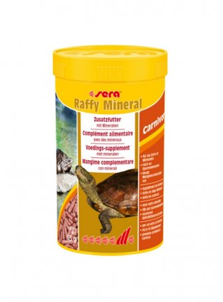 Sera RAFFI MINERAL - pellets galleggianti per tartarughe