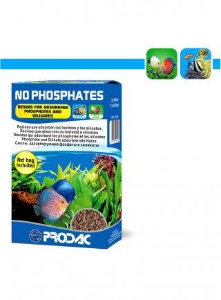 Prodac No Phosphates materiale filtrante per fosfati silicati in acquario d'acqua dolce e marina 200 ml