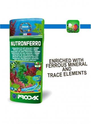Prodac Nutroferro fertilizzante per piante d'acquario