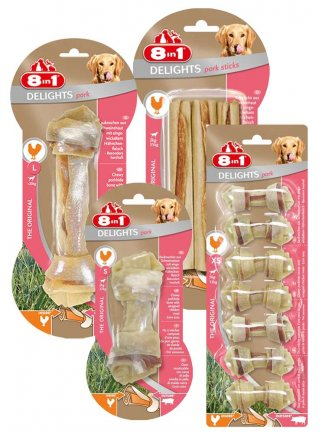 8in1 Snack cane Delights Pork