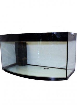 Vasca in vetro temperato vitrea 80x50 vetro curvo 180 litri