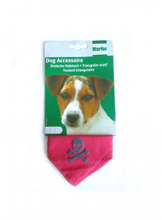 Bandana per cane colori assortiti con teschio