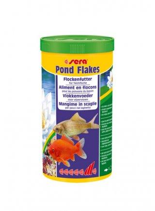 Sera pond flakes fiocchi pesci rossi e koi