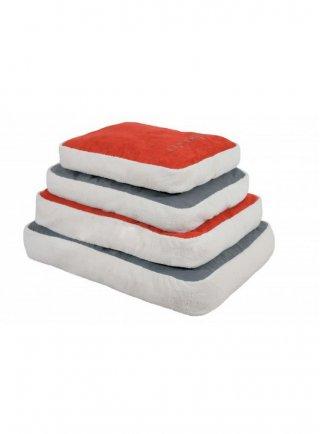 Zolux cuscino per cani sfoderabile Coccoon Rosso Grigio
