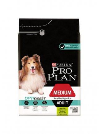Purina Pro Plan Medium Adult Sensitive digestion Optidigest agnello 3 14 kg