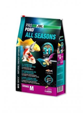 JBL PROPOND All Seasons M mangime in pellets completo per tutti i pesci da laghetto