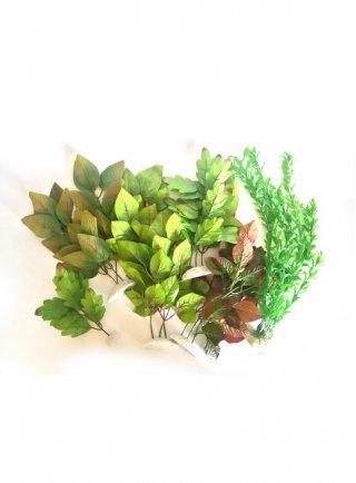 Assortimento 4 piante finte Assortite
