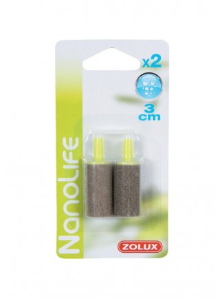 Zolux 2x diffusore d'aria per acquari 3 cm