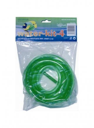 Tubo Morbido Water Kit Acqua 4 8/12 mm lunghezza 1,5 mt