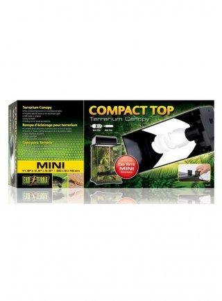 Plafoniera Fluorescent Canopy Compact Top cm 30x9x15