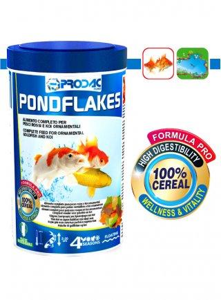 Prodac Pondflakes Mangime per Pesci acquario in Scaglie