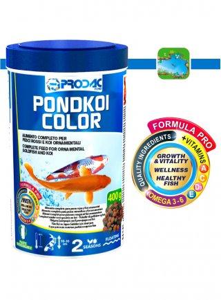 Prodac Pondkoi color Small Alimento per Pesci Ornamentali