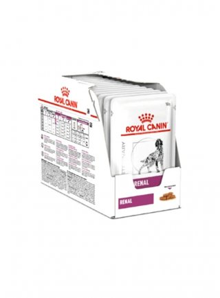 Renal buste cane Royal Canin 12x100 gr