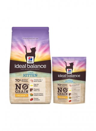 Hill's Ideal Balance Kitten No Grain per gattini Pollo fresco e Patate