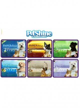Pannoguanto detergente umidificato per cani