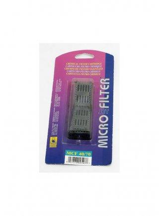 Cartuccia carbone ricambio micro jet filter mcf 40/70