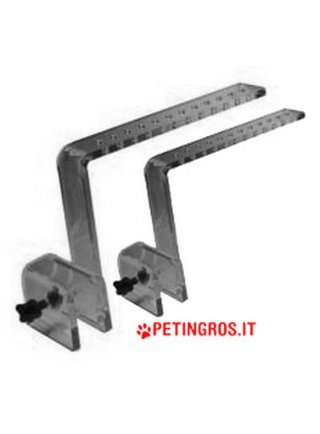 Braccetti sostegno per Plafoniera Led Strip Hi Power 2pz BRACKET