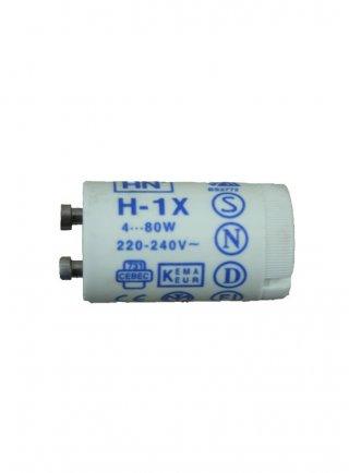 HN H-1X starter per lampade T8 neon