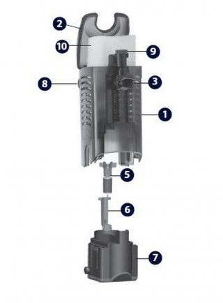 Magneto girante ricambio filtro kopatto k1 k2 k3 k4