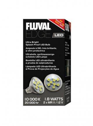 Fluvial edge lampada a led ricambio 1.8 watts 10000 K