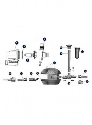 Guscio pompa per FF 6000