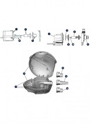 Guscio per pompa MF 2200 930069