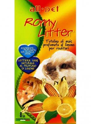 All Pet Ronny litter tutolina di mais al limone lt 8