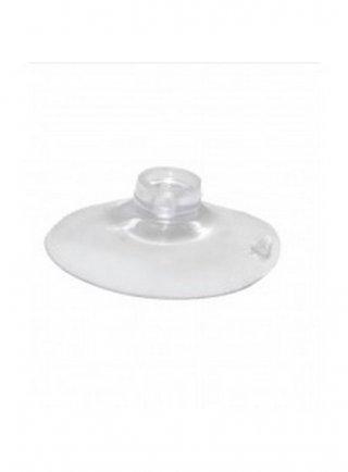 Ventosa trasparente universale (diametro 3,5 cm ) con foro