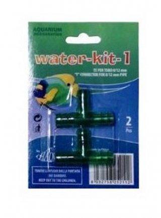 Raccordo a T 2pz per tubi acqua acquario