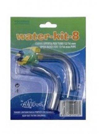 Curva rigida per acquari water kit 2pz