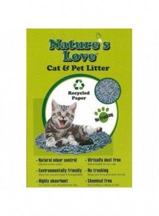 Nature's love lettiera carta riciclata per gatti