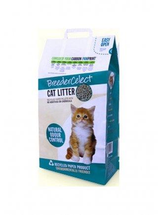Lettiera per gatti 100% naturale breeder celect