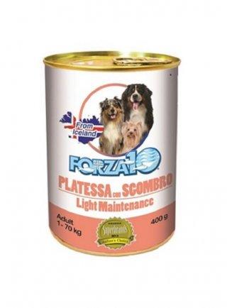 Forza 10 cane adult Maintenance Light 400 gr platessa sgombro
