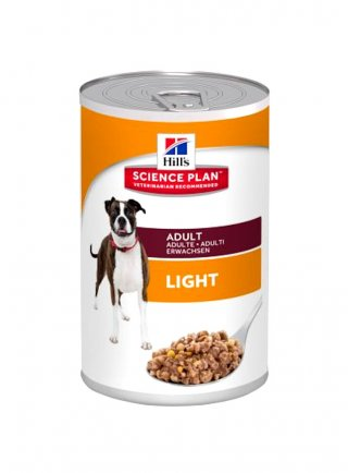 Hill's Canine Adult Light con Pollo 370 gr