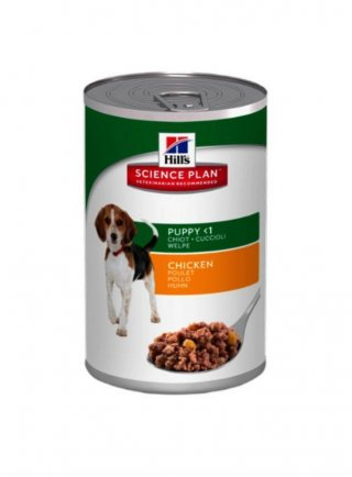 Hill's canine puppy al pollo 370 gr umido