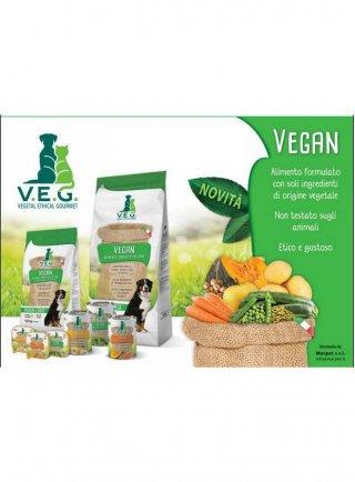 Vegan V.E.G. umido cane alimento complementare per cani