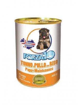 Forza 10 cane puppy Maintenance tonno, pollo e riso 400 Gr