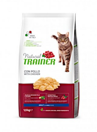 Trainer Natural Cat Adult con pollo fresco